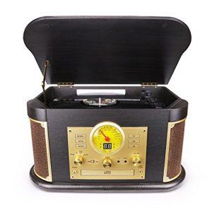 D&L Vintage Record Player Wooden