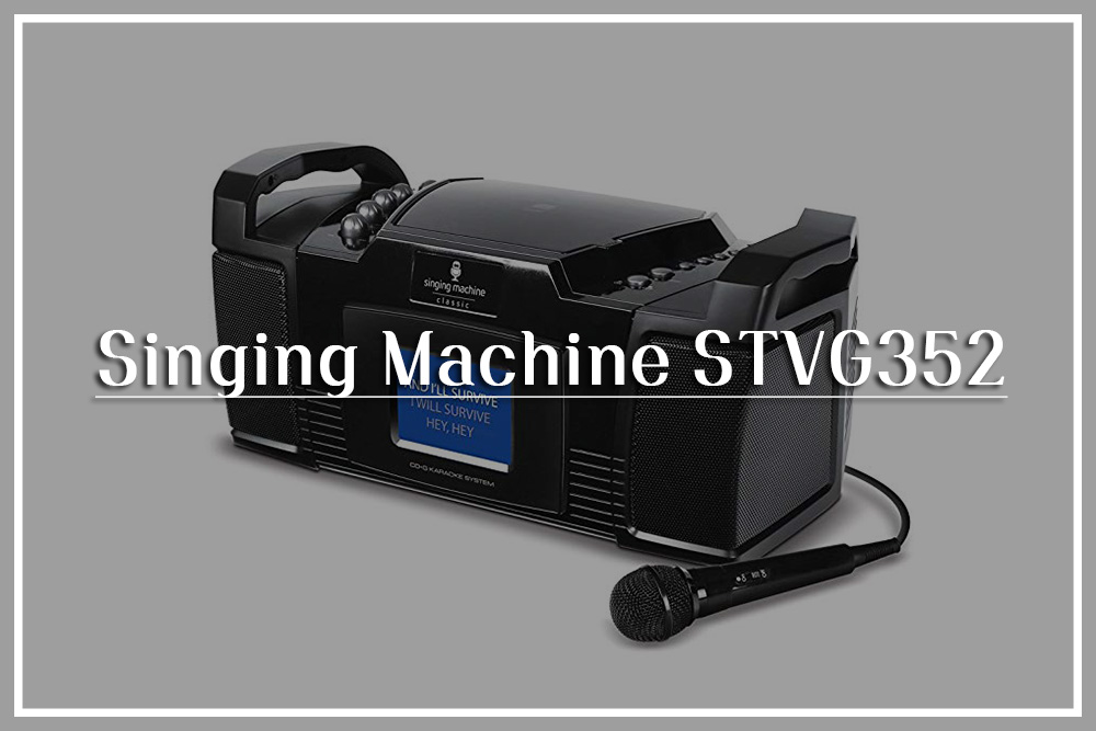 Singing Machine STVG352