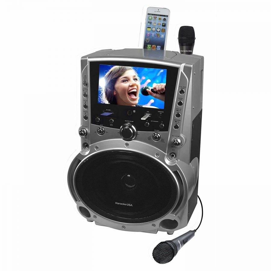 Karaoke USA GF757 | Ion Audio Party Starter Karaoke System