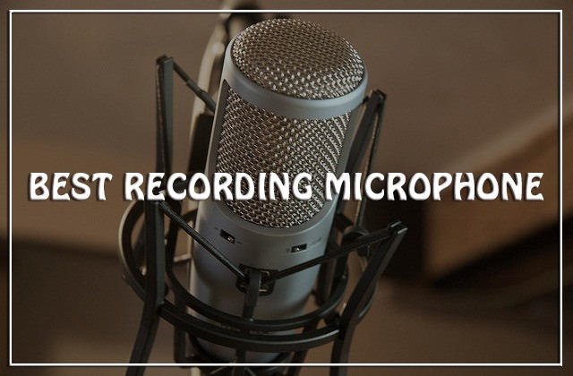 best recording microphone