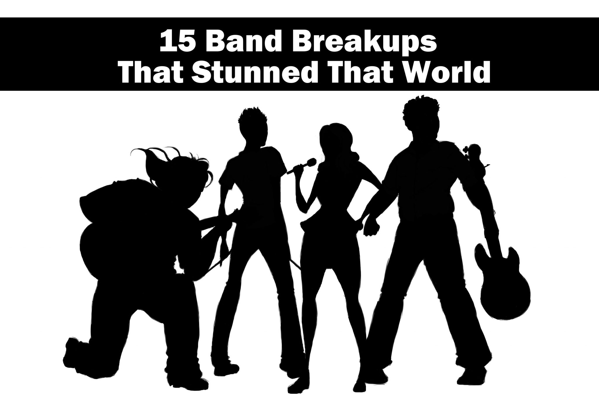 15 Band Breakups That Stunned That World
