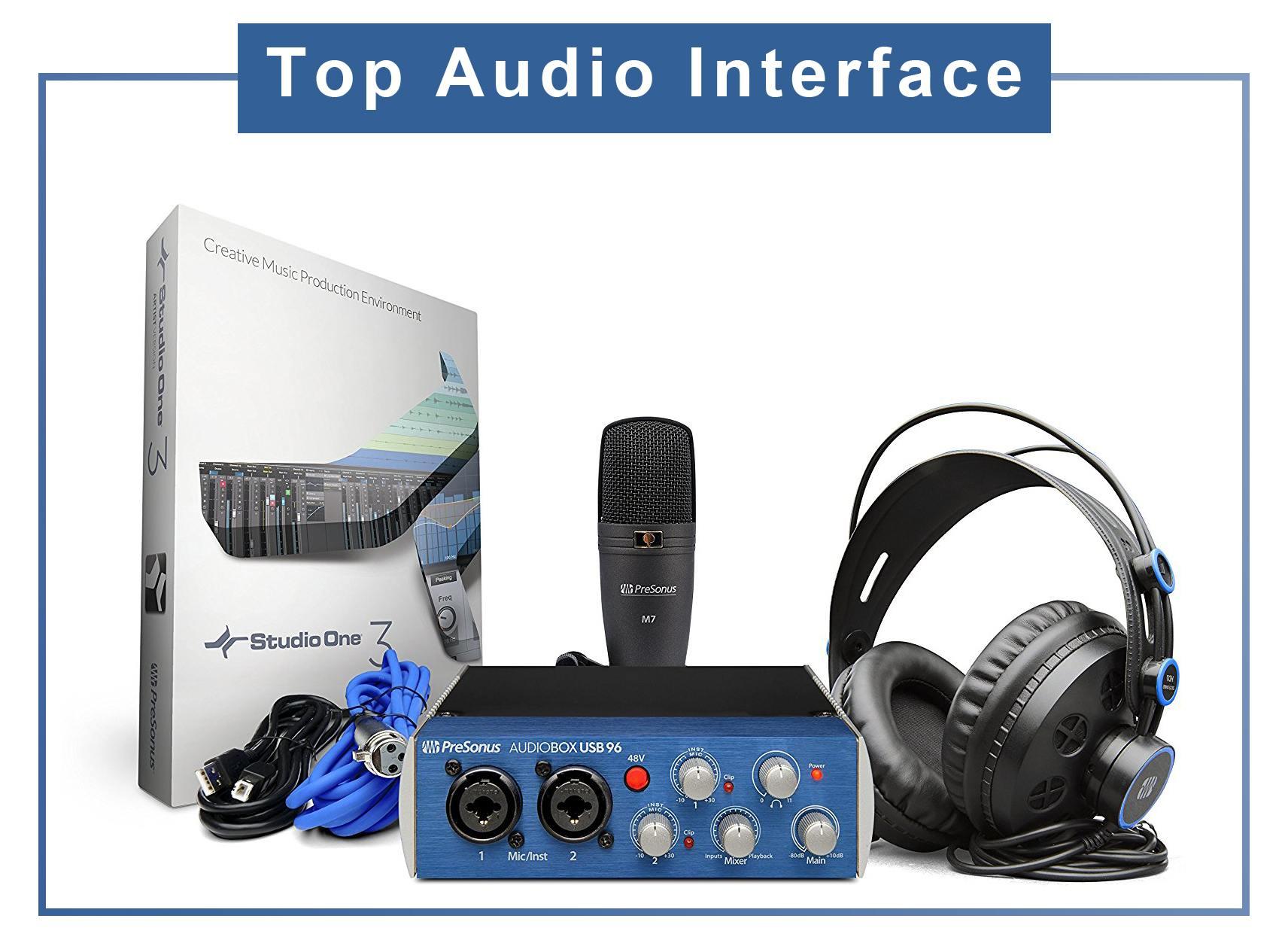 Top Audio Interface