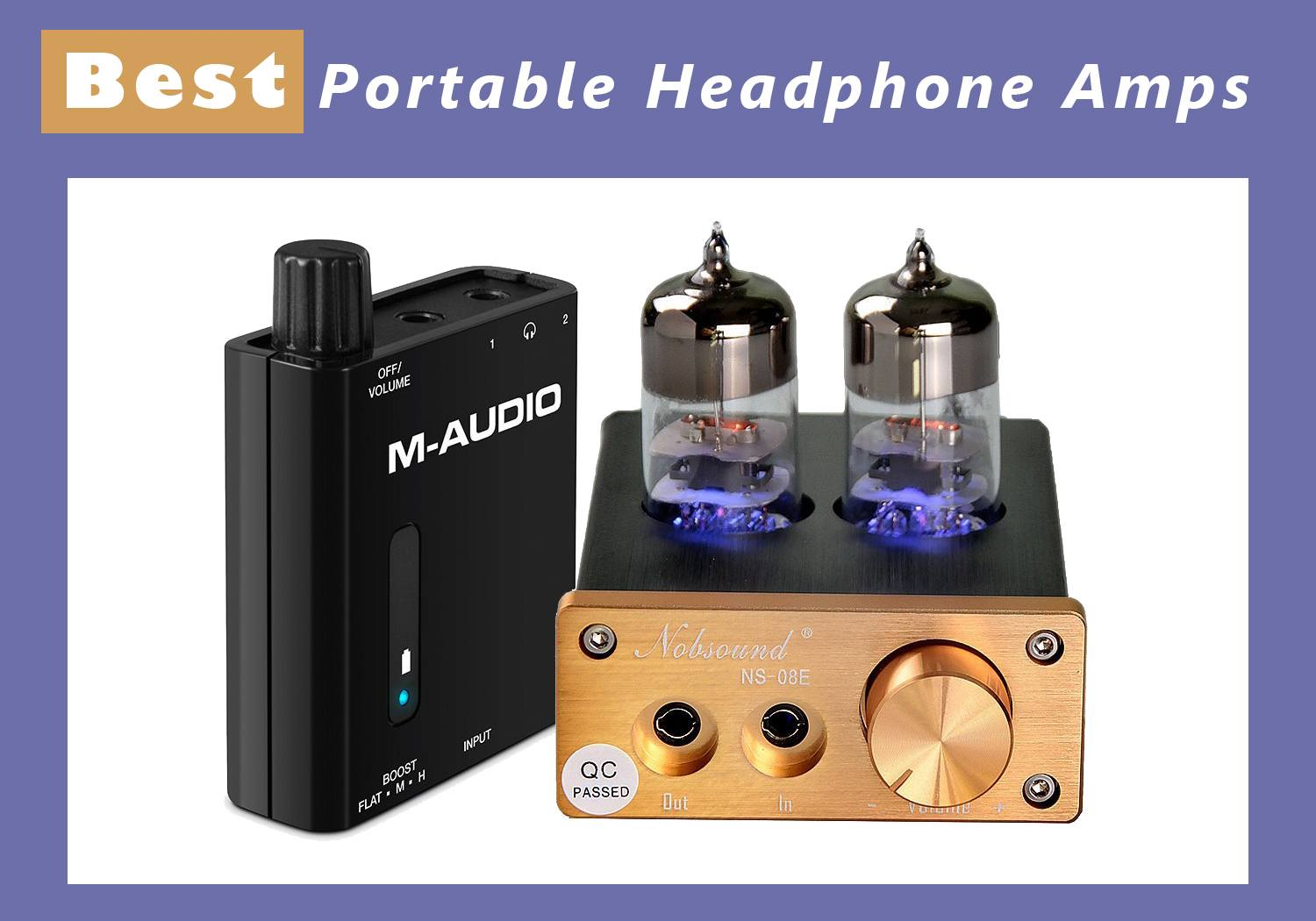 Best Portable Headphone Amps