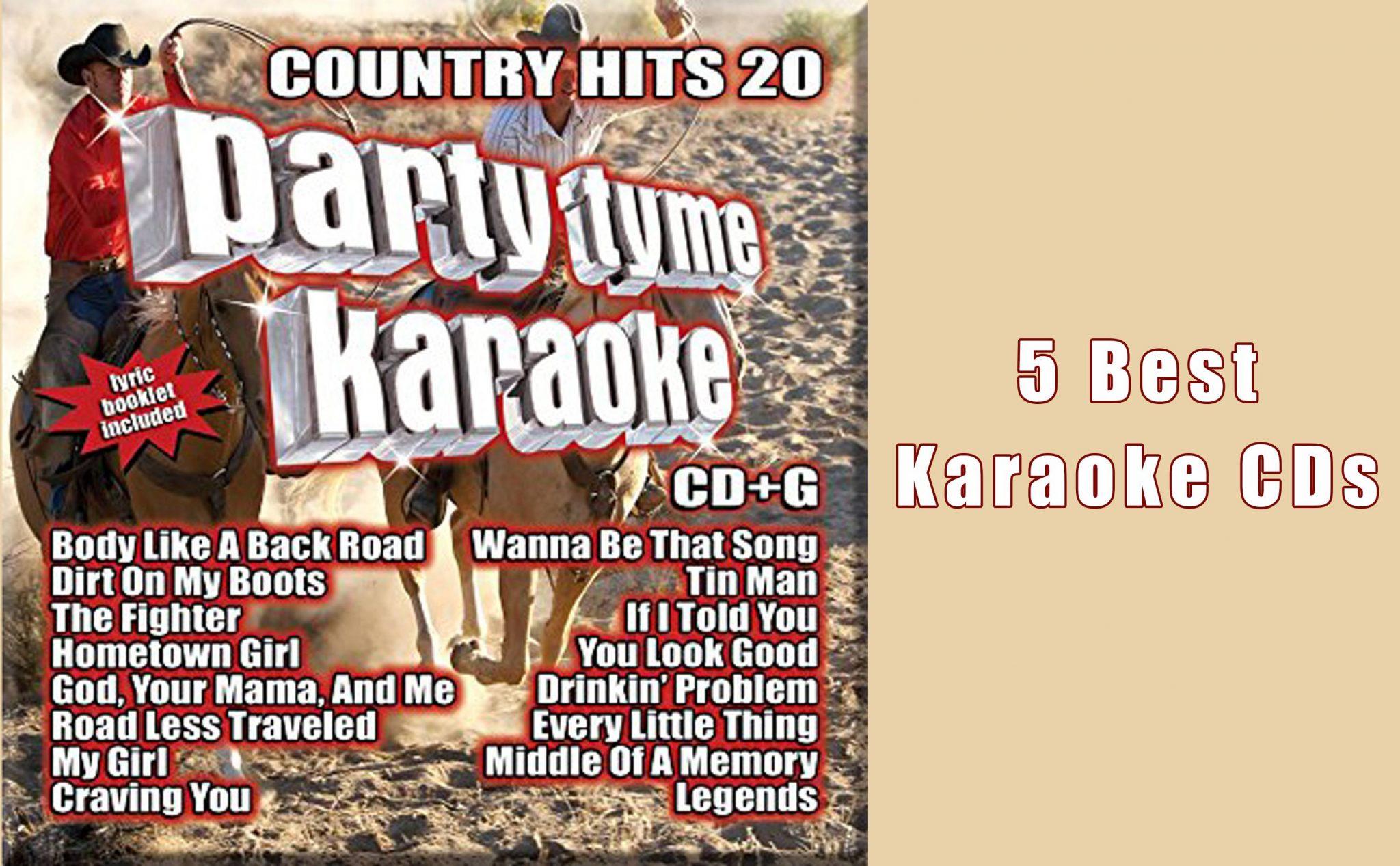 5 Best Karaoke CDs