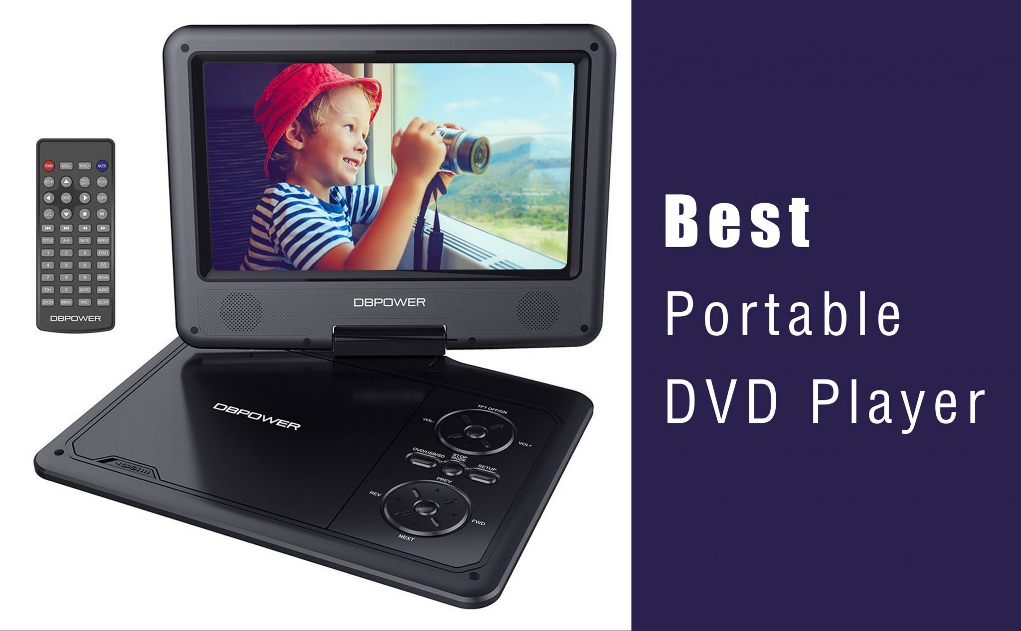 Best Portable DVD Player
