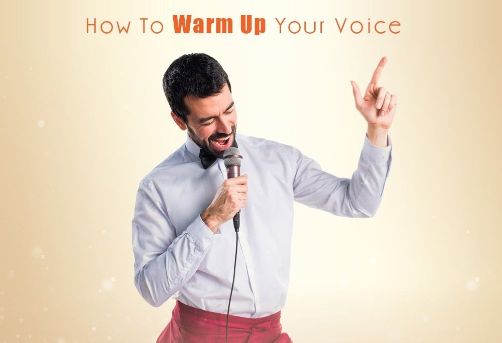 how to warm up your voice