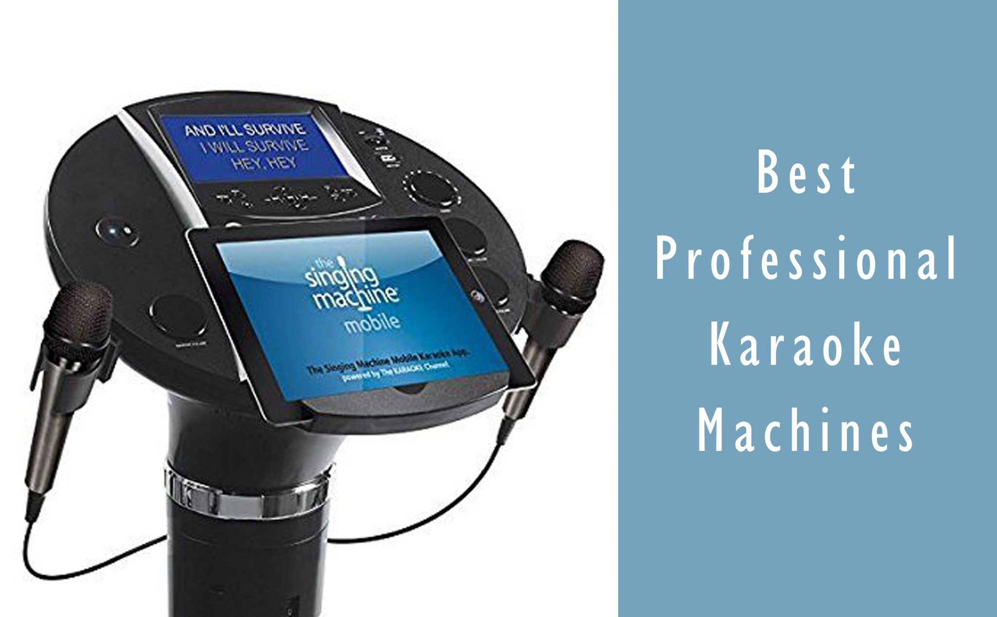 Best Professional Karaoke Machine