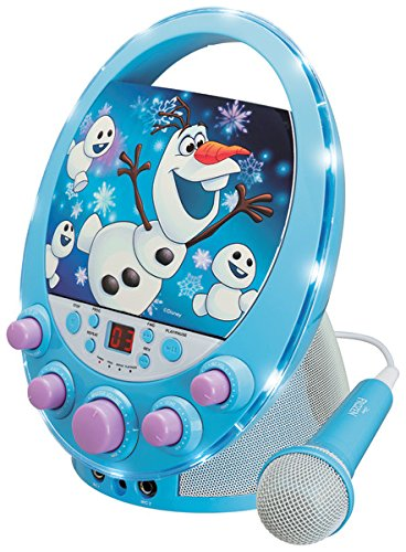 Disney's Frozen Flashing Lights Karaoke Machine