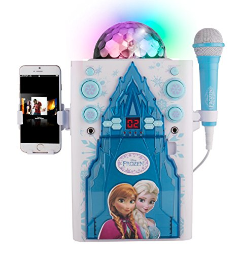 Frozen Sakar KO2-06027 Frozen Disco Ball Karaoke Machine