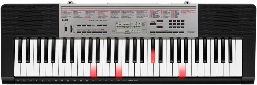 Casio LK-190 61-Key Portable Keyboard