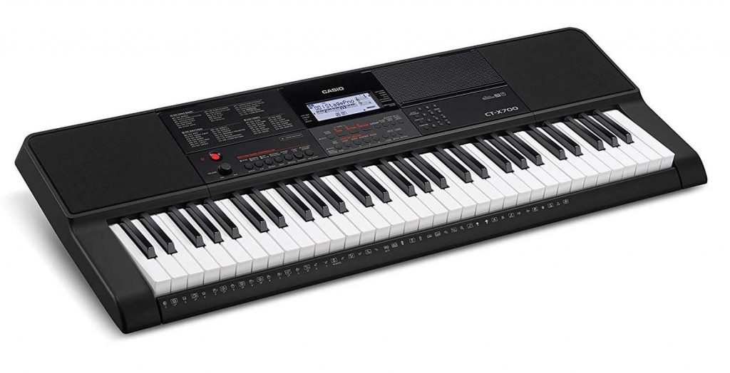 Casio CTX700 61-Key Best Keyboard for Beginner