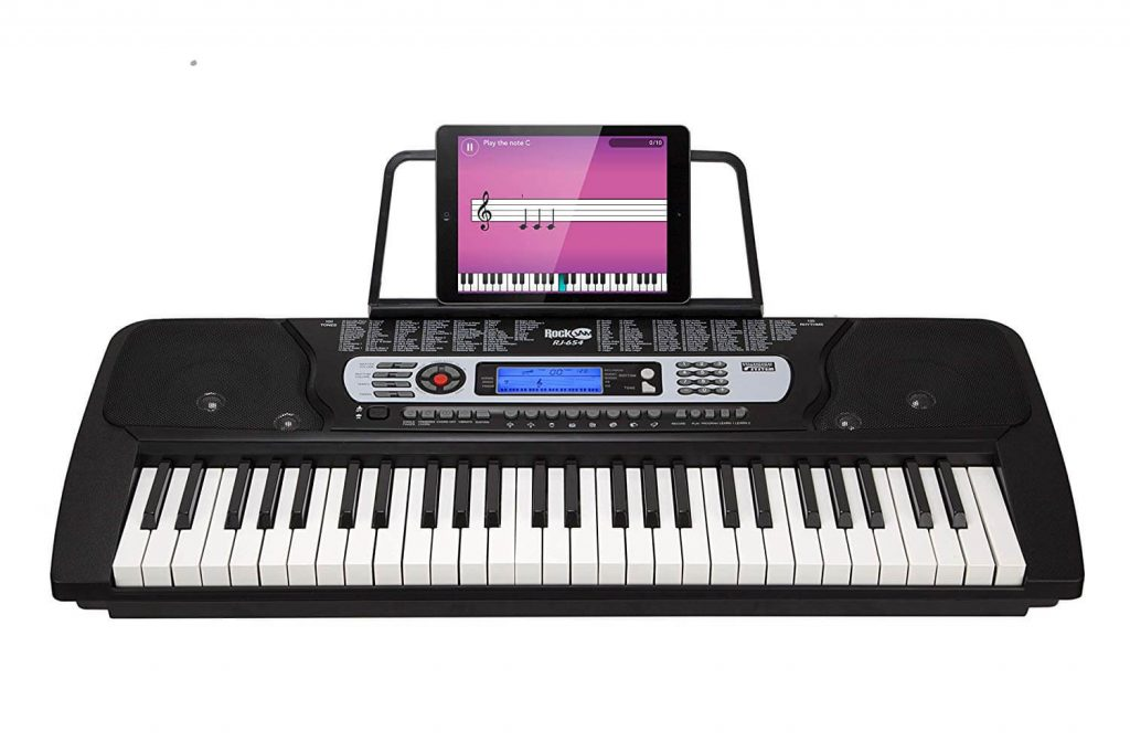 RockJam 54-Key Beginner Digital Keyboard