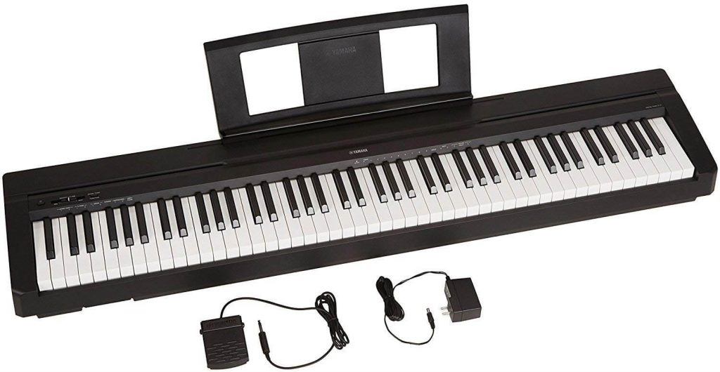 Yamaha P71 Best Weighted Keyboard