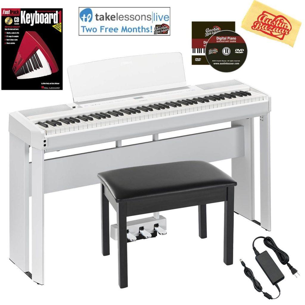 Yamaha P-515 Sounding Upright Piano