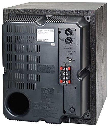 Sony SA-W2500