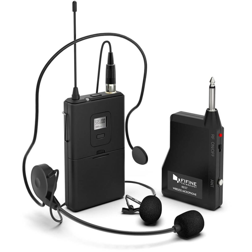 Fifine Wireless Microphone (K037B)