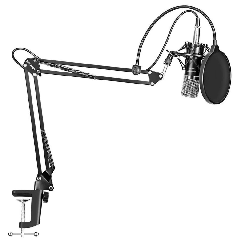 Neewer NW-700 Studio Broadcasting Recording Condenser Microphone