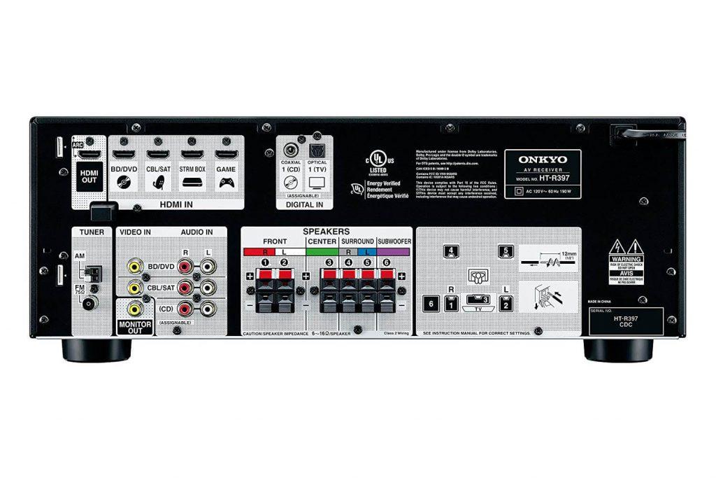 Onkyo HT-S3900 surround sound system