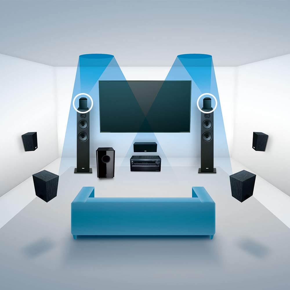 Onkyo SKH-410 surround sound system